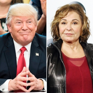 Donald Trump Called Roseanne to Congratulate Her Show Reboot Ratings