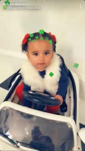 Dream Kardashian, Rob Kardashian, Saint Patrick's Day