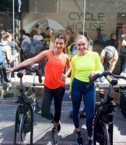 Lea Michele and Becca Tobin