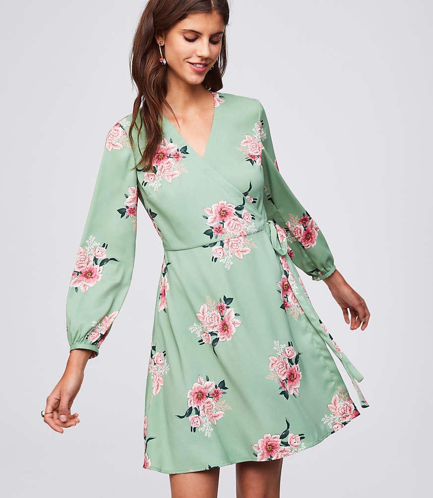 182f13d393 Spring 2018 Floral Dress Ideas  Midi
