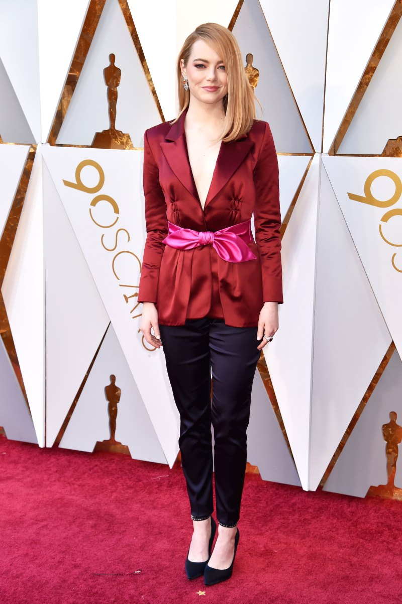 Emma Stone AA Oscars 2018