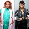 Eva Marcille and Missy Elliott