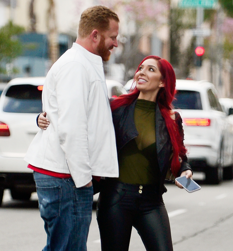 Farrah Abraham Splits From Boyfriend Aden Stay One Week After They Confirmed Dating