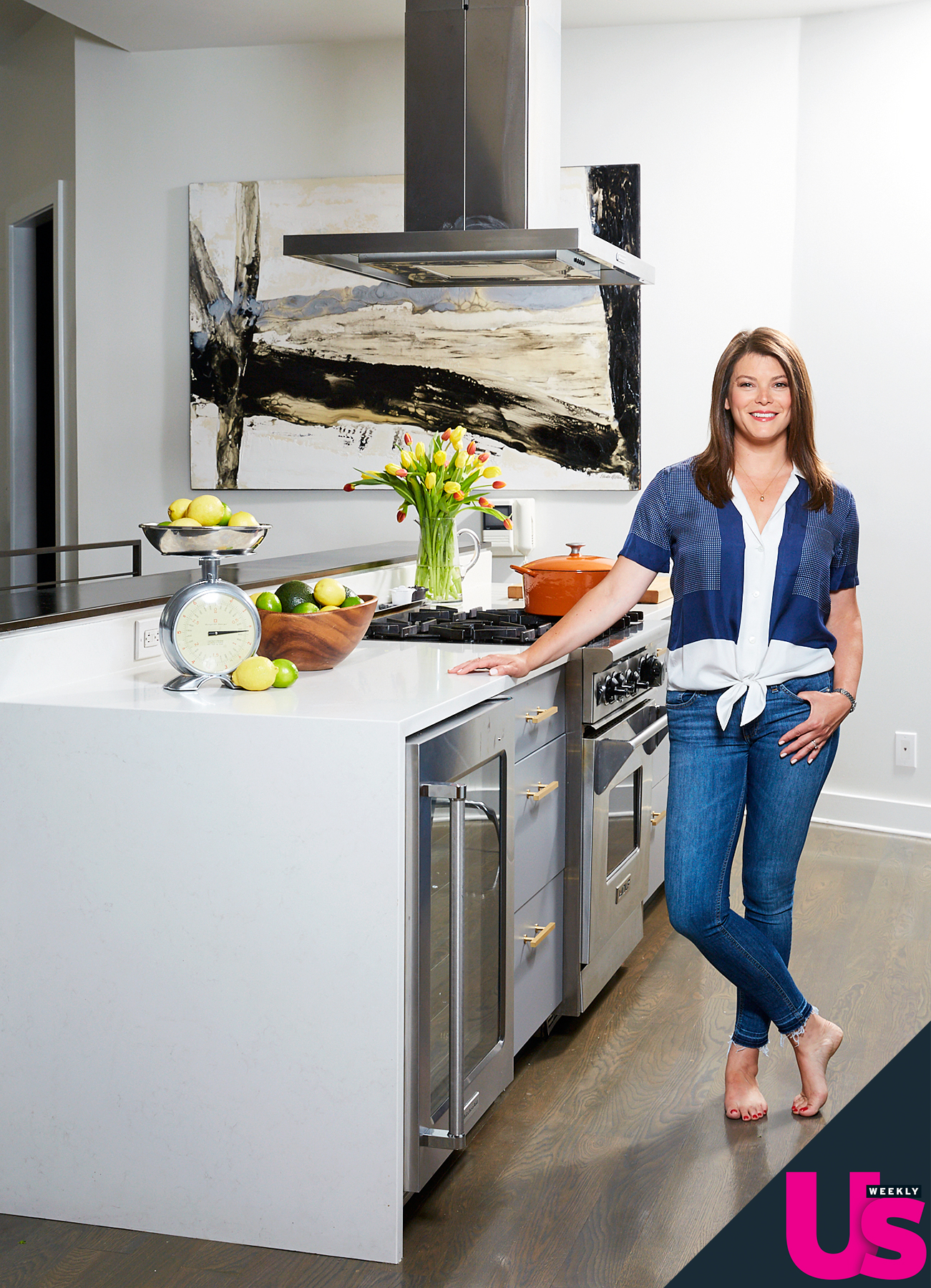 Gail Simmons kitchen