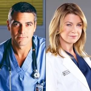 George Clooney and Ellen Pompeo