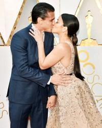 Oscars 2018 Celebrity PDA Gina Rodriguez Joe Locicero