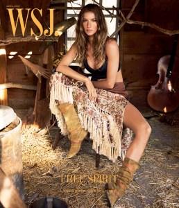 Gisele Bundchen WSJ Cover