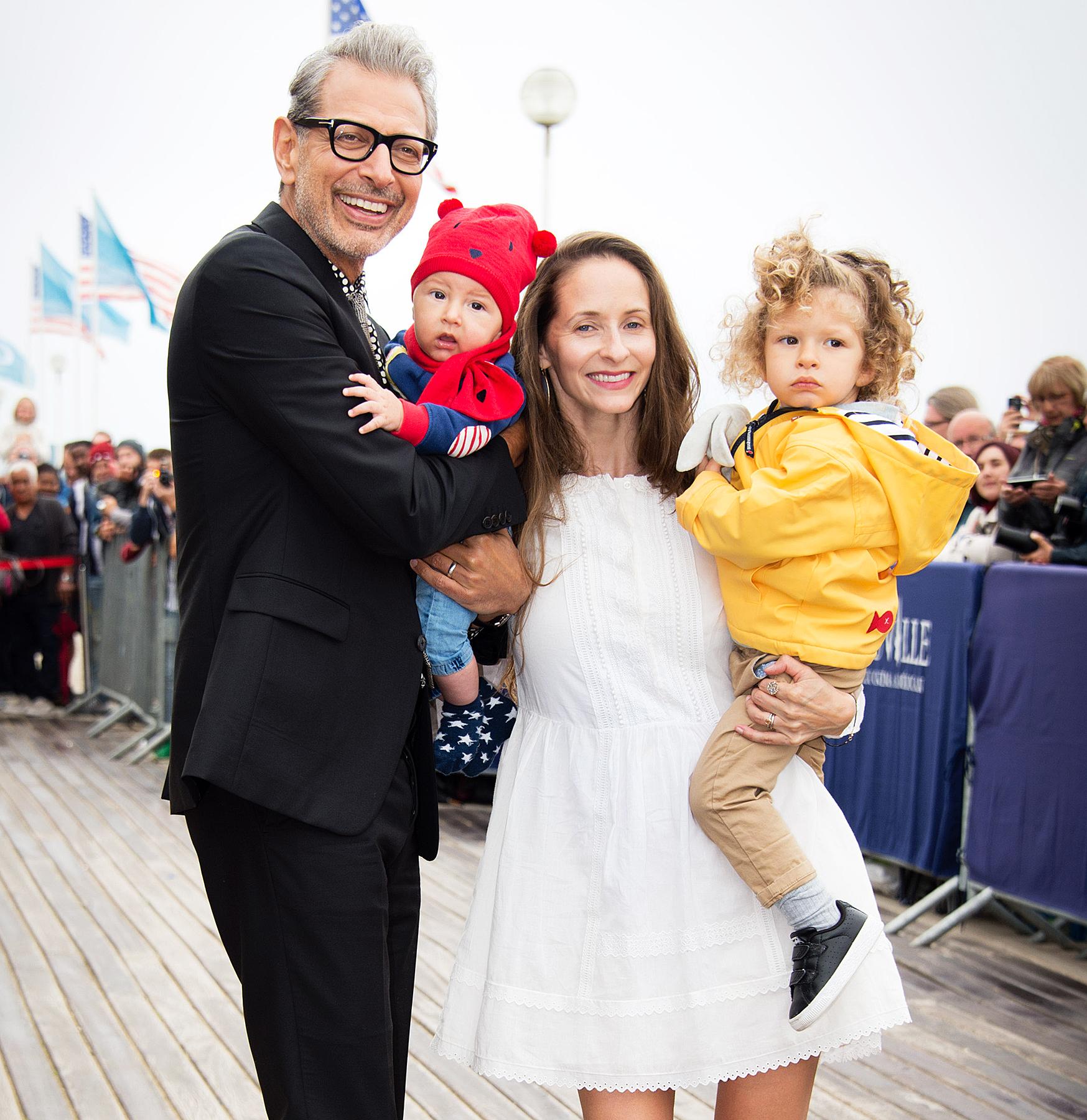 Jeff Goldblum Opens Up About Being an Older Dad