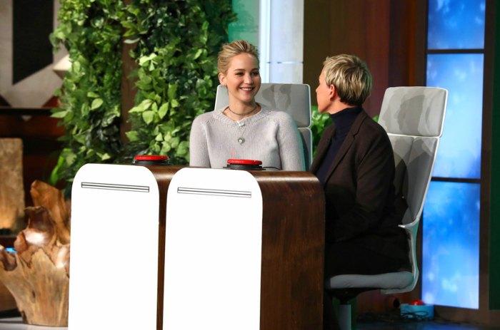 Jennifer Lawrence on Ellen