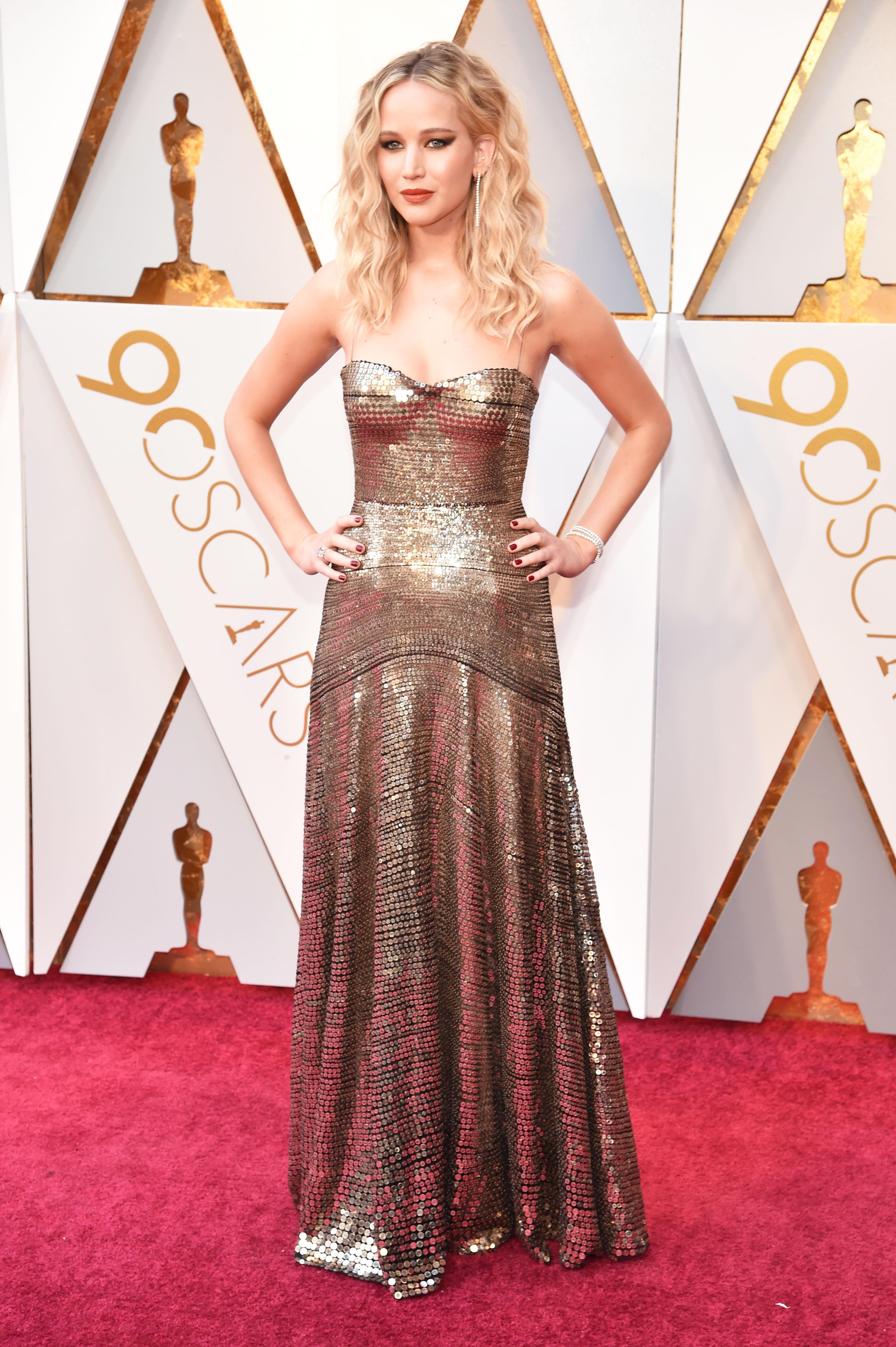 Oscars 2018 Red Carpet Photos: Orange 10
