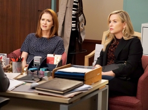 Sarah Drew and Jessica Capshaw on Grey's Anatomy