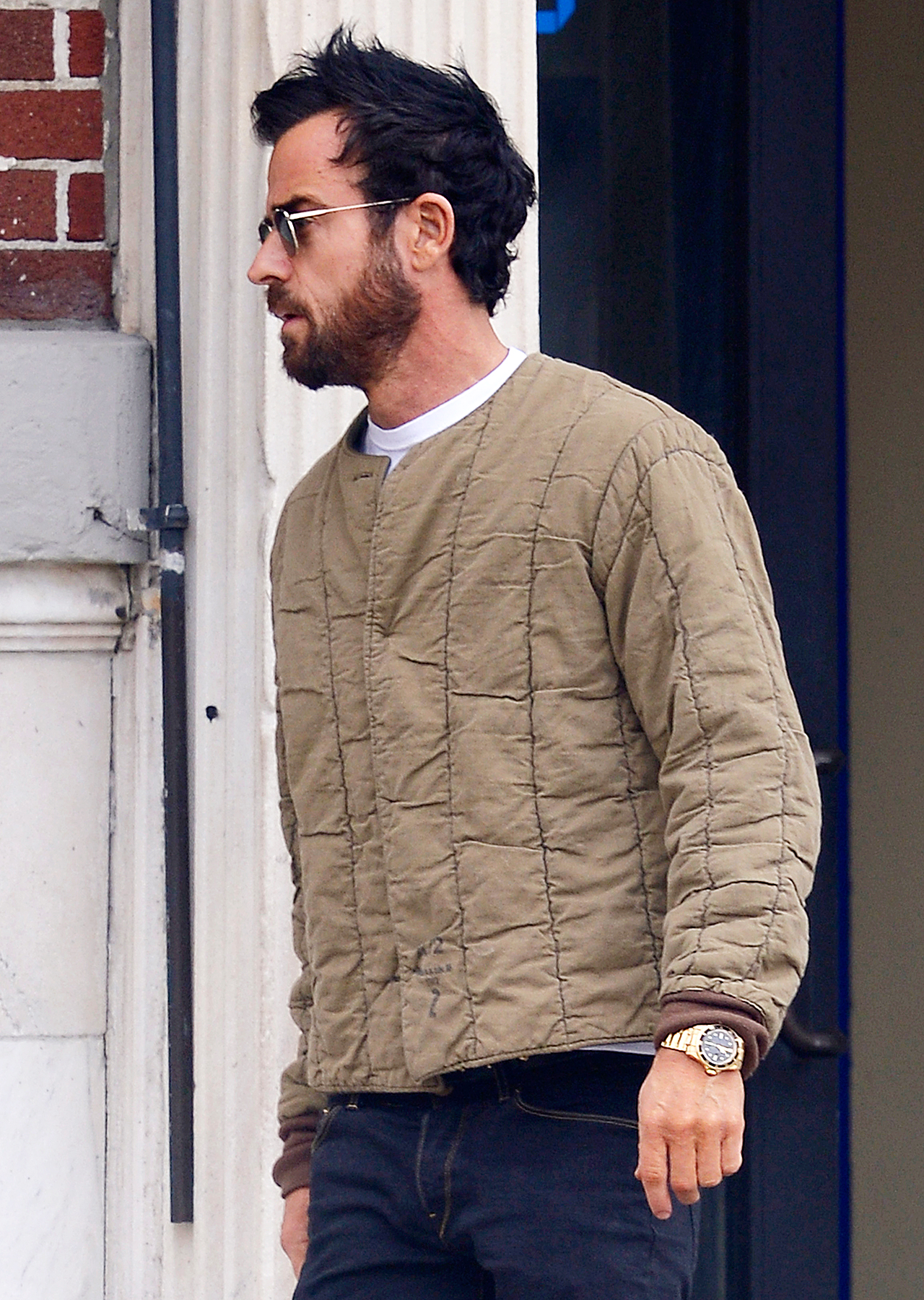 Justin Theroux no ring