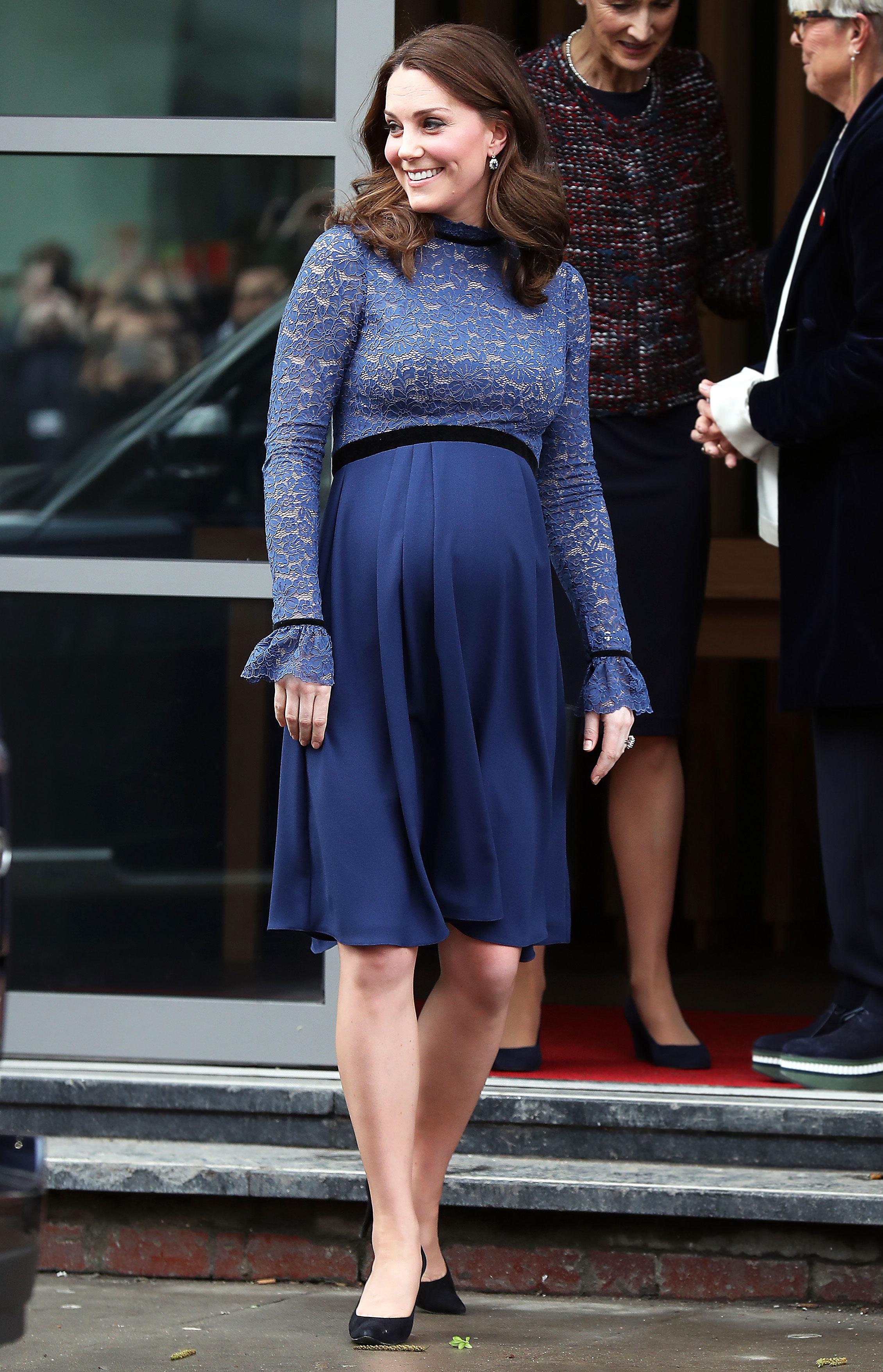 kate middleton maternity style third pregnancy pics