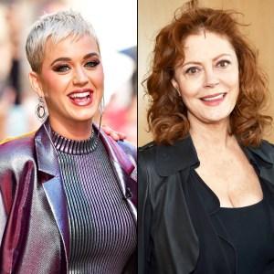 Katy Perry and Susan Sarandon