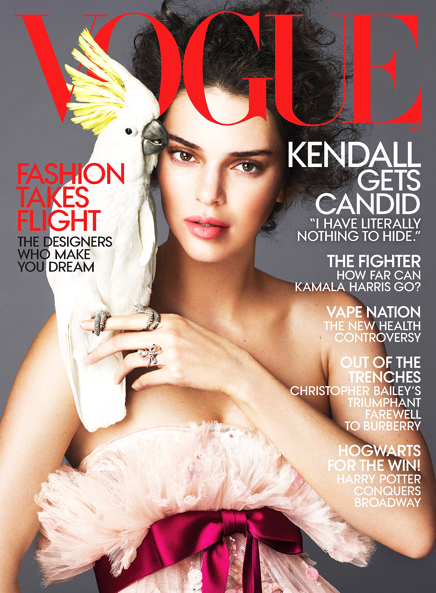 Kendall Jenner VOGUE cover