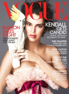Kendall Jenner Vogue Magazine Cover