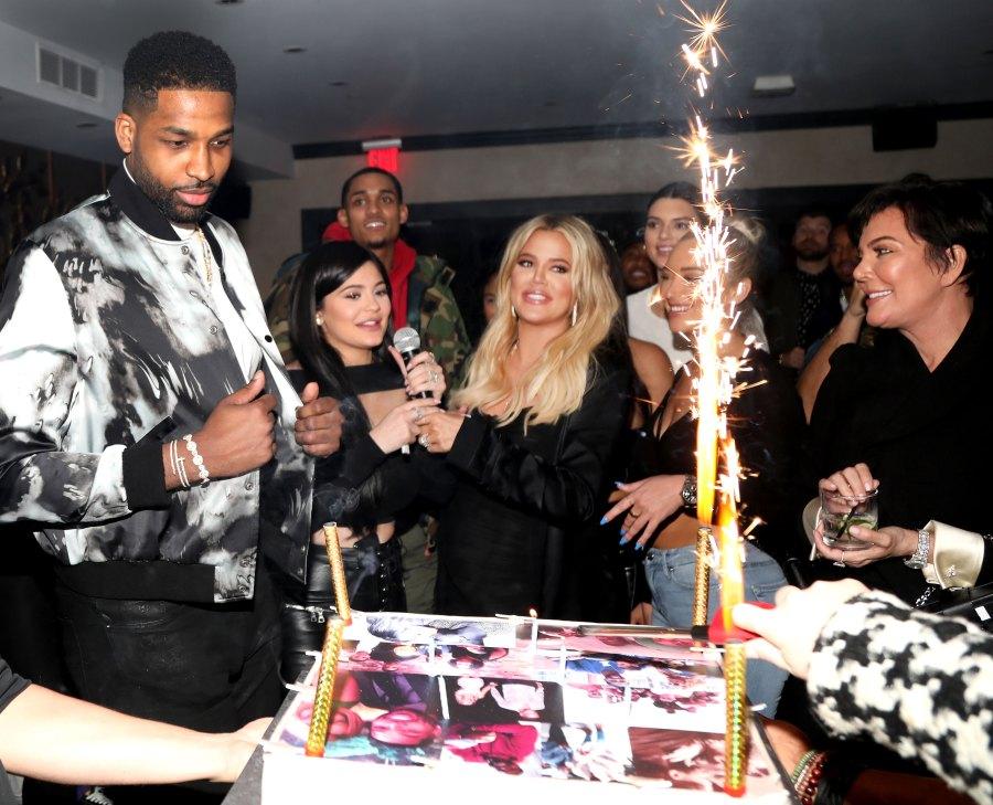Khloe Kardashian Tristan Thompson birthday