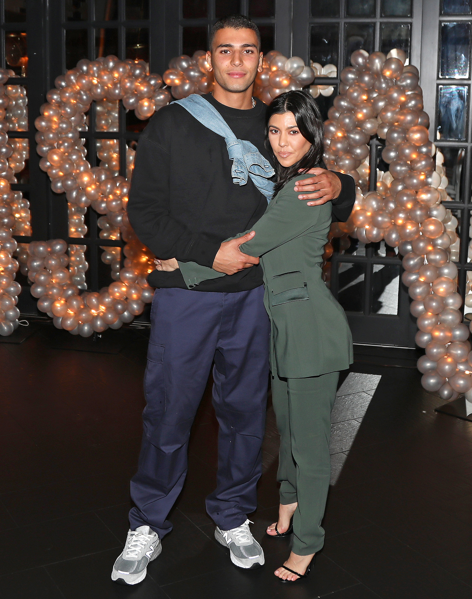 Andrea Thompson Hot kylie jenner shows off post-baby body at tristan thompson's