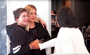 Kylie Jenner and Khloe Kardashian on 'Keeping Up with the Kardashians'