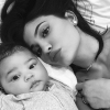 Kylie posts first selfies with daughter Stormi