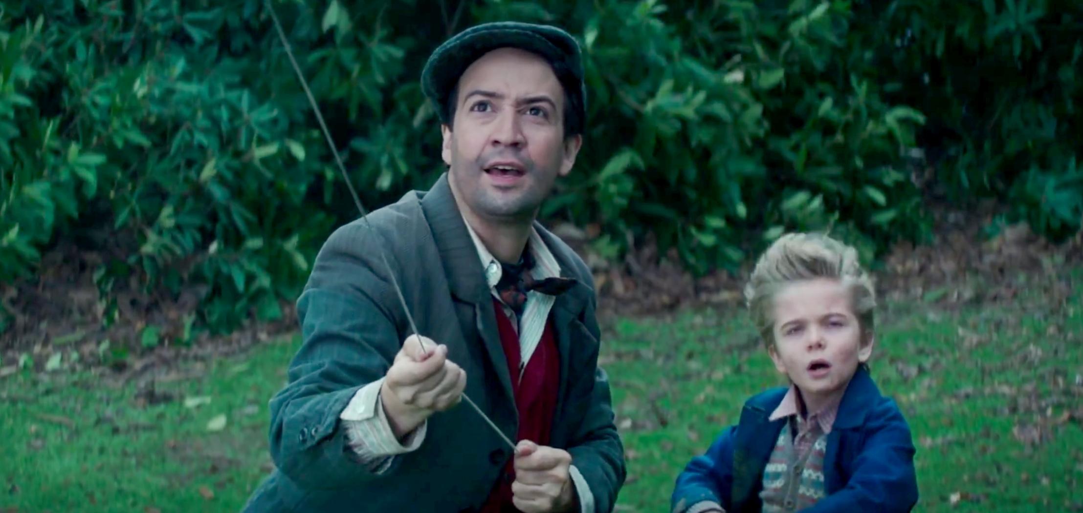 Lin-Manuel Miranda in 'Mary Poppins Returns'