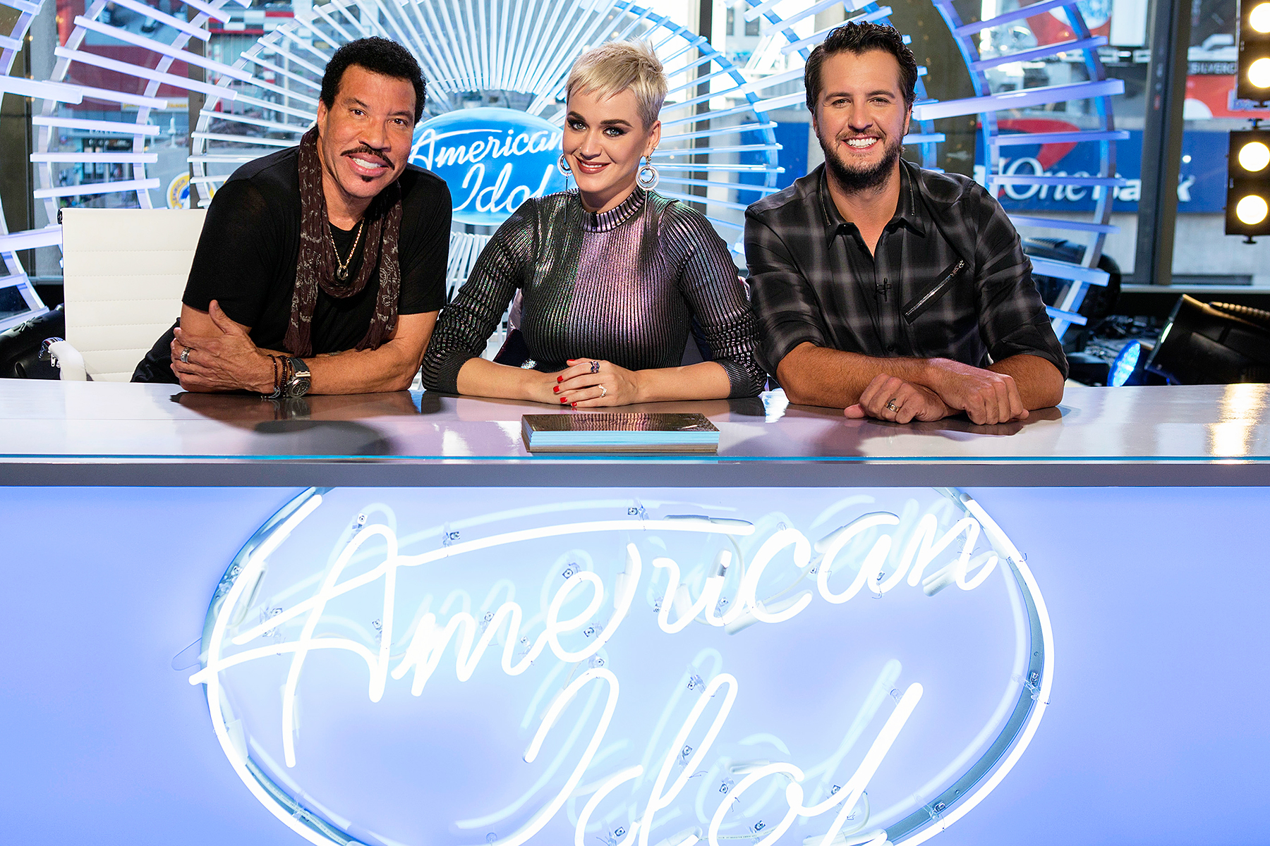 American Idol judges Lionel Richie Katy Perry Luke Bryan