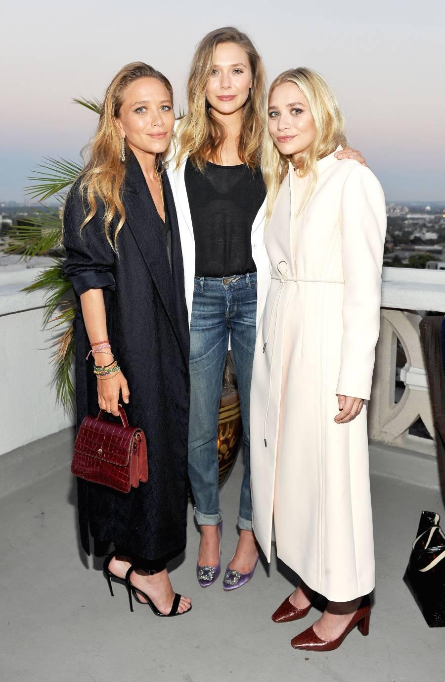Mary-Kate Olsen, Elizabeth Olsen and Ashley Olsen