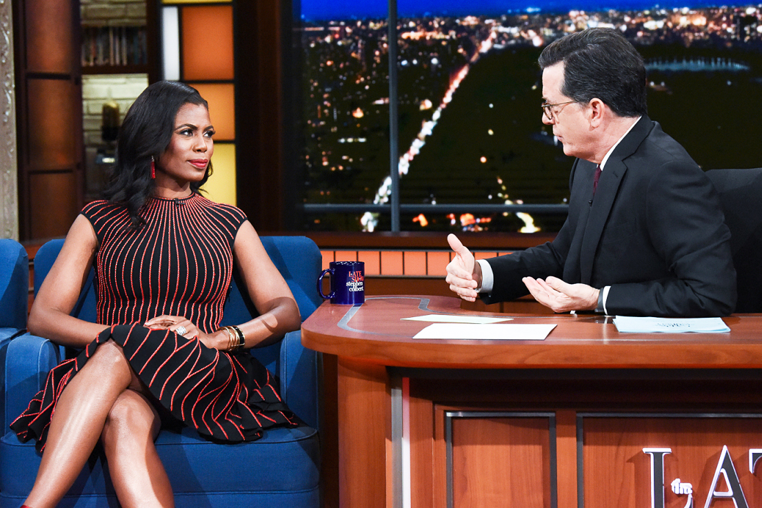Omarosa Manigault The Late Show with Stephen Colbert
