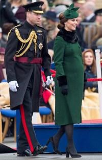 Prince William, Kate Middleton, Irish Guards St Patrick's Day Parade