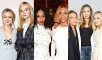 Dakota and elle fanning, solange and Beyonce Knowles, mary-kate, Elizabeth and Ashley olsen