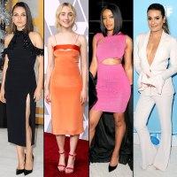 Mila Kunis, Saoirse Ronan, Keke Palmer and Lea Michele