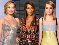 Olivia wilde, halle berry, emma stone oscars after party