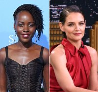 lupita and Katie holmes