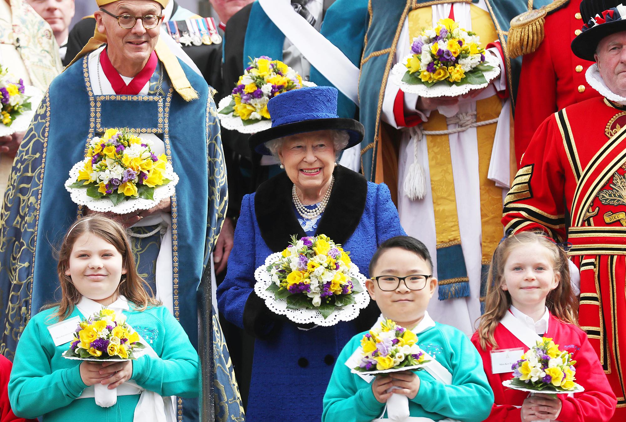 Queen Elizabeth II Royal Maundy service