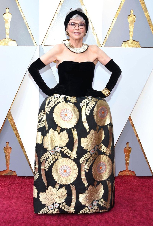 Rita Moreno AA Oscars 2018
