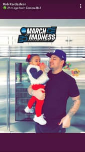 Rob Kardashian, Dream, Slim, March Madness, Snapchat