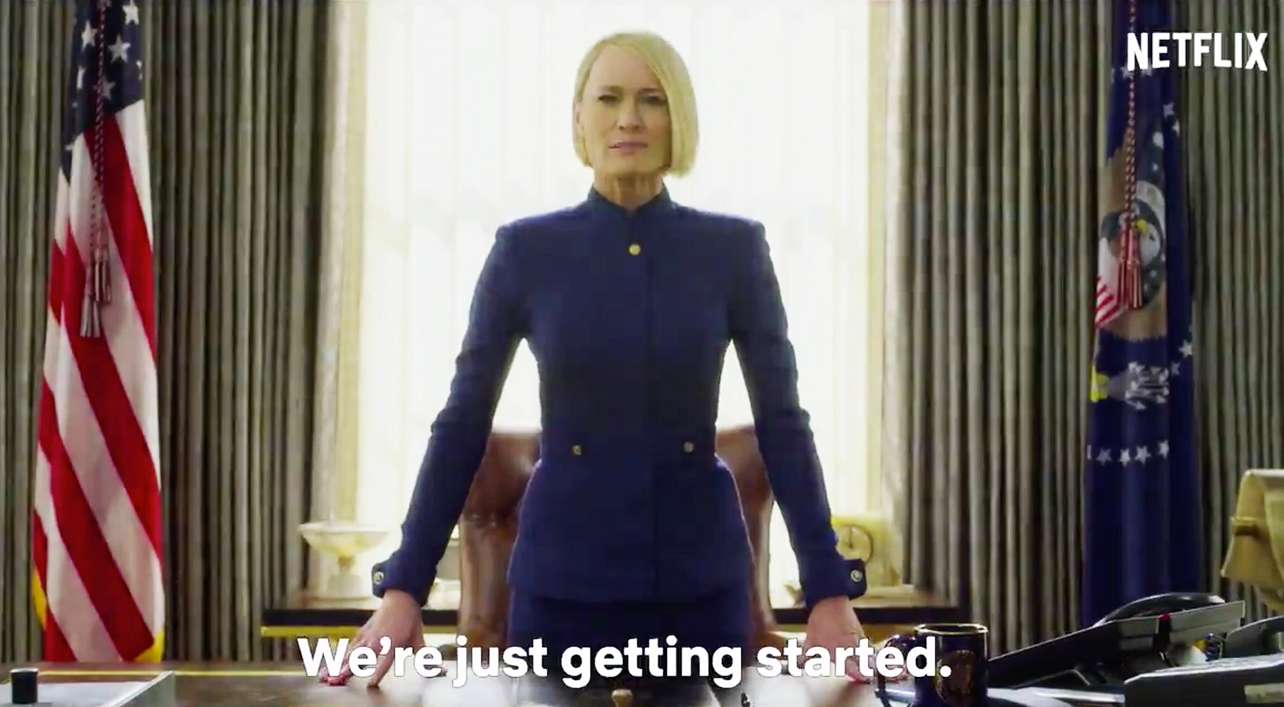 House of Cards final season teaser: Robin Wright assumes the throne