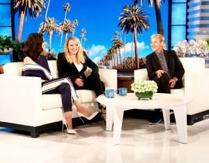 Mila Kunis and Kate McKinnon on 'The Ellen DeGeneres Show'