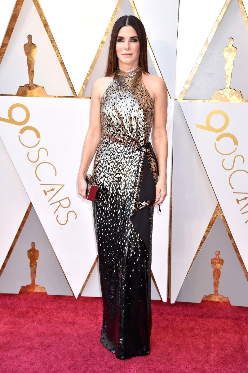Sandra Bullock AA Oscars 2018