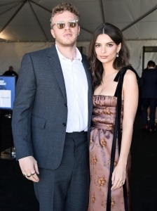 Sebastian Bear-McClard, Emily Ratajkowski, 2018 Film Independent Spirit Awards, Married, Ring