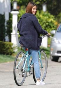 Selena Gomez, Justin Bieber, Breakup, Bike Ride