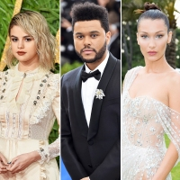 Selena Gomez The Weeknd Bella Hadid My Dear Melancholy EP