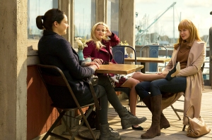 Shailene Woodley, Reese Witherspoon and Nicole Kidman in 'Little Big Lies'