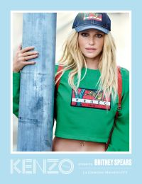 d01748444 Britney Spears Stars in New Kenzo Campaign: Pics, Video