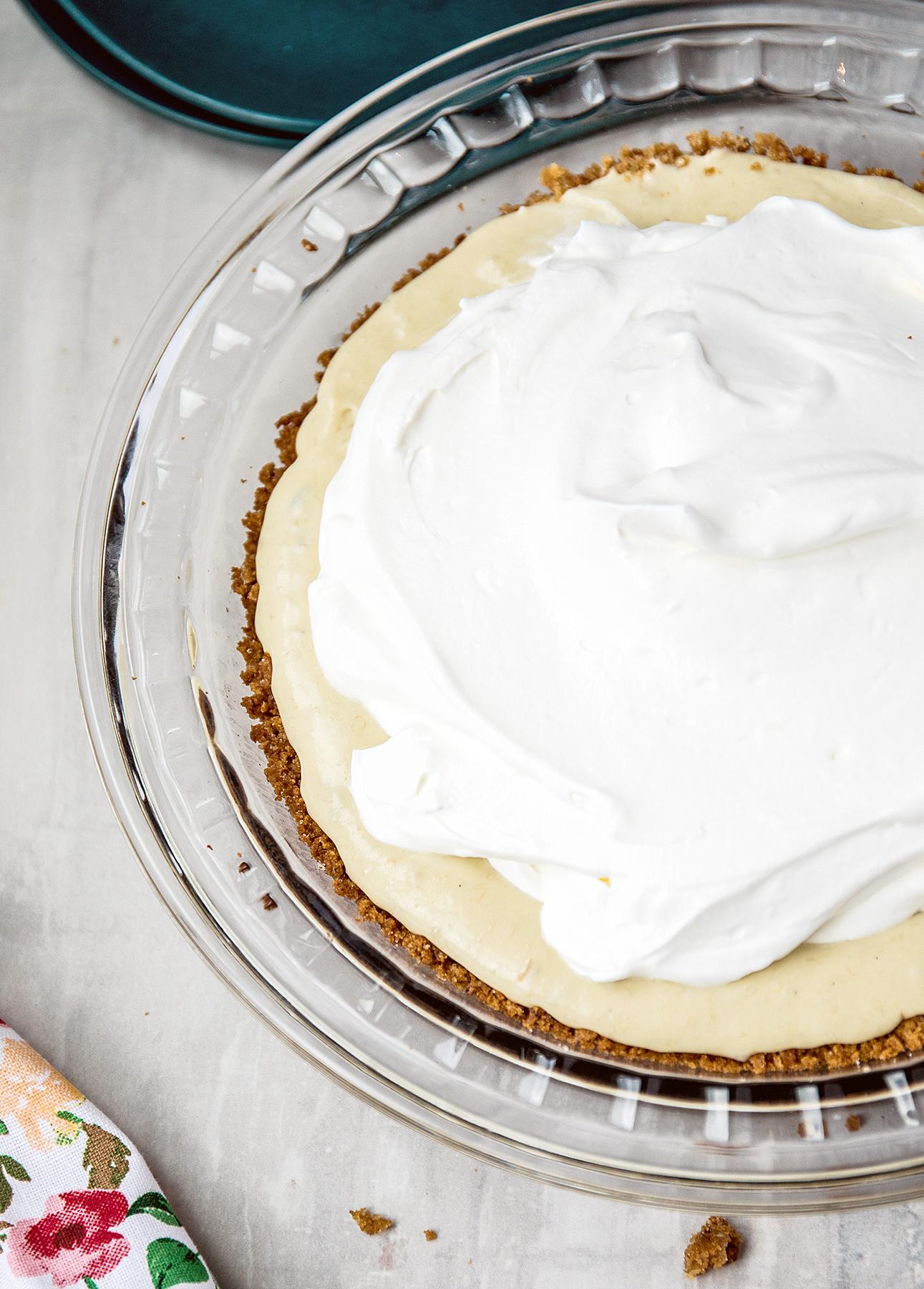 Stephanie Izard Pi Day Banana Cream Pie