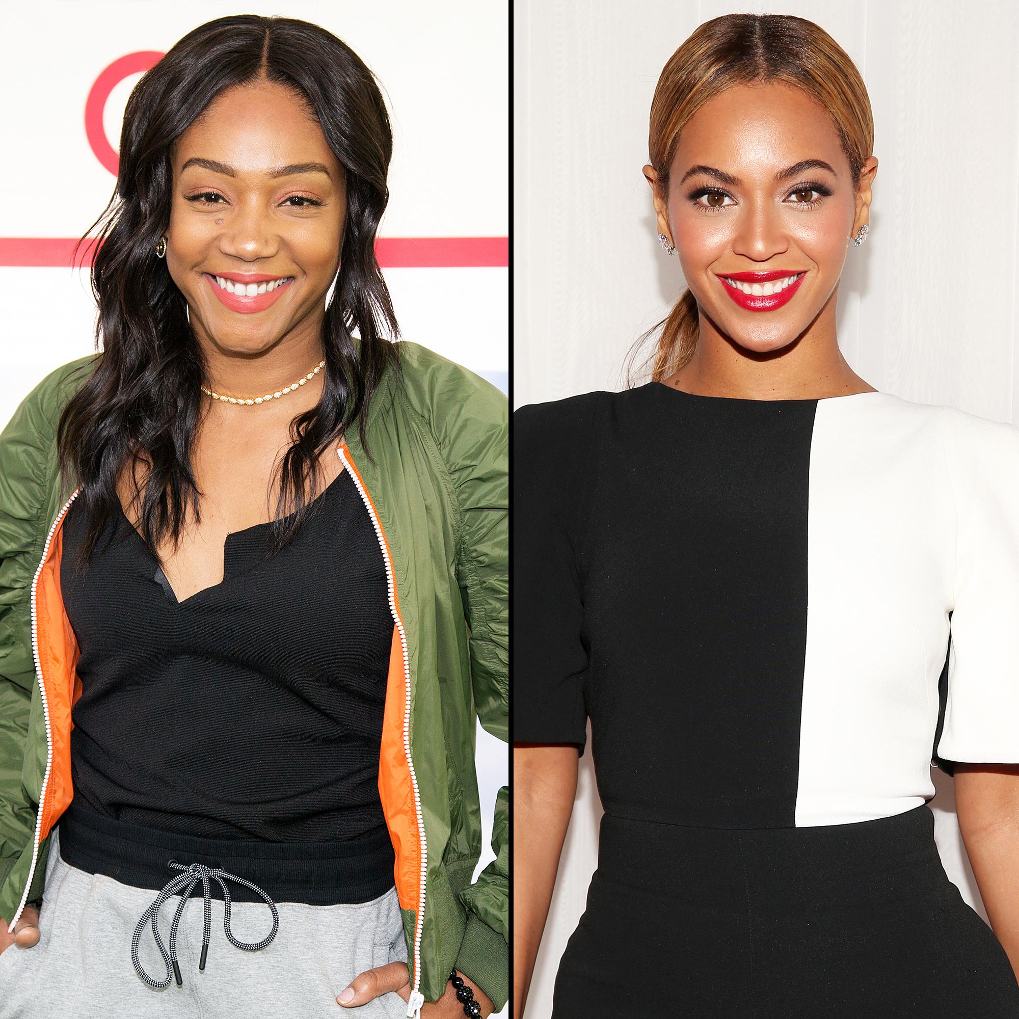 Tiffany Haddish Won't Reveal Who Bit Beyonce Because She Signed a NDA