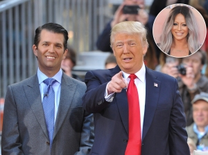 Donald Trump Jr, Donald Trump and Aubrey O'Day affair