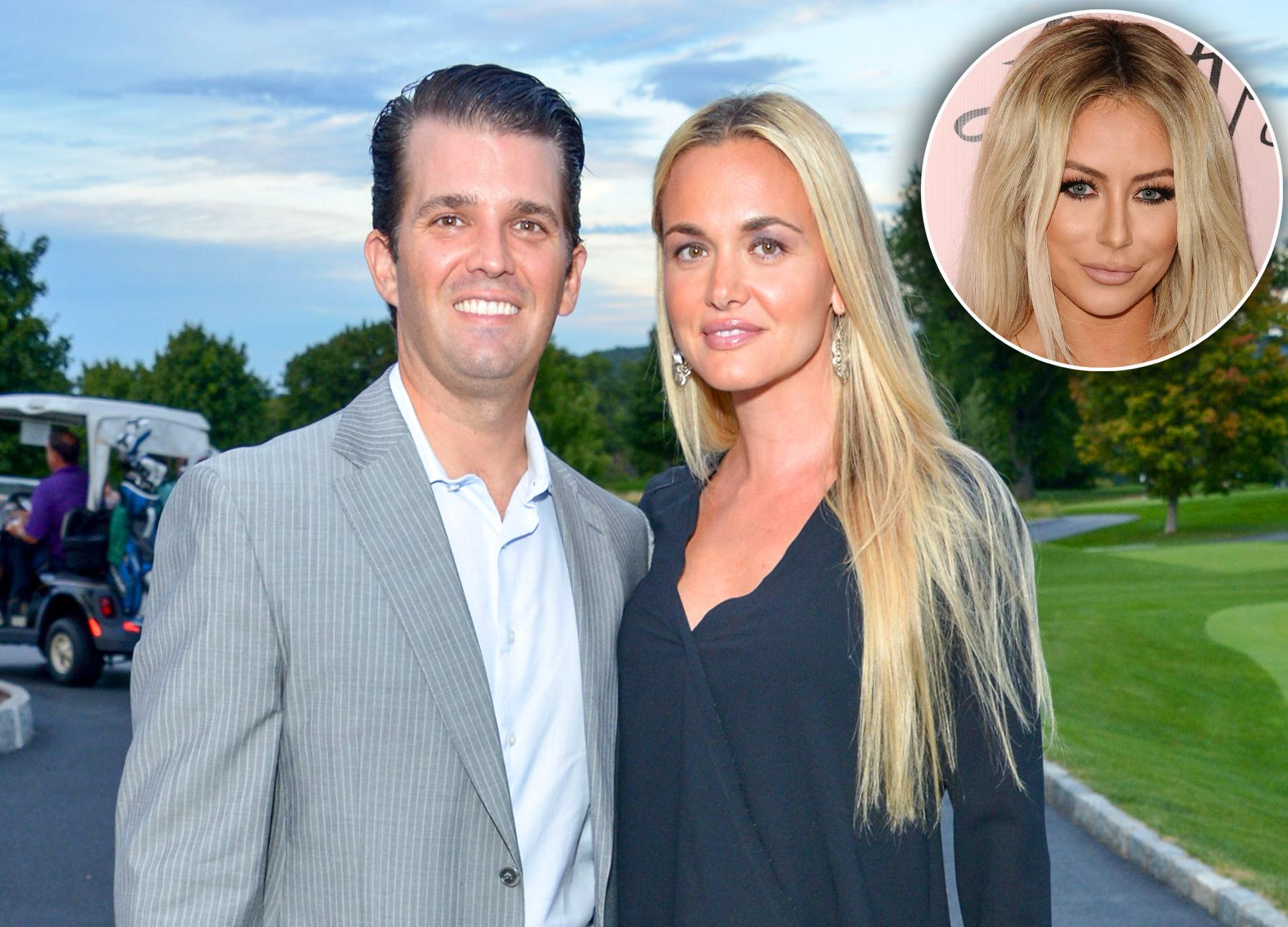 Donald Trump Jr., Vanessa Trump and Aubrey O'Day affair divorce