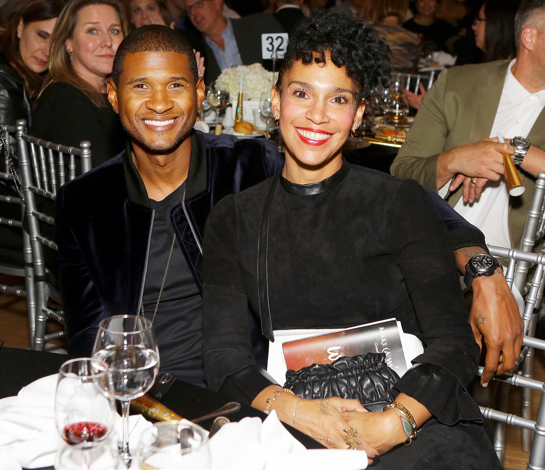 Image result for usher and grace miguel