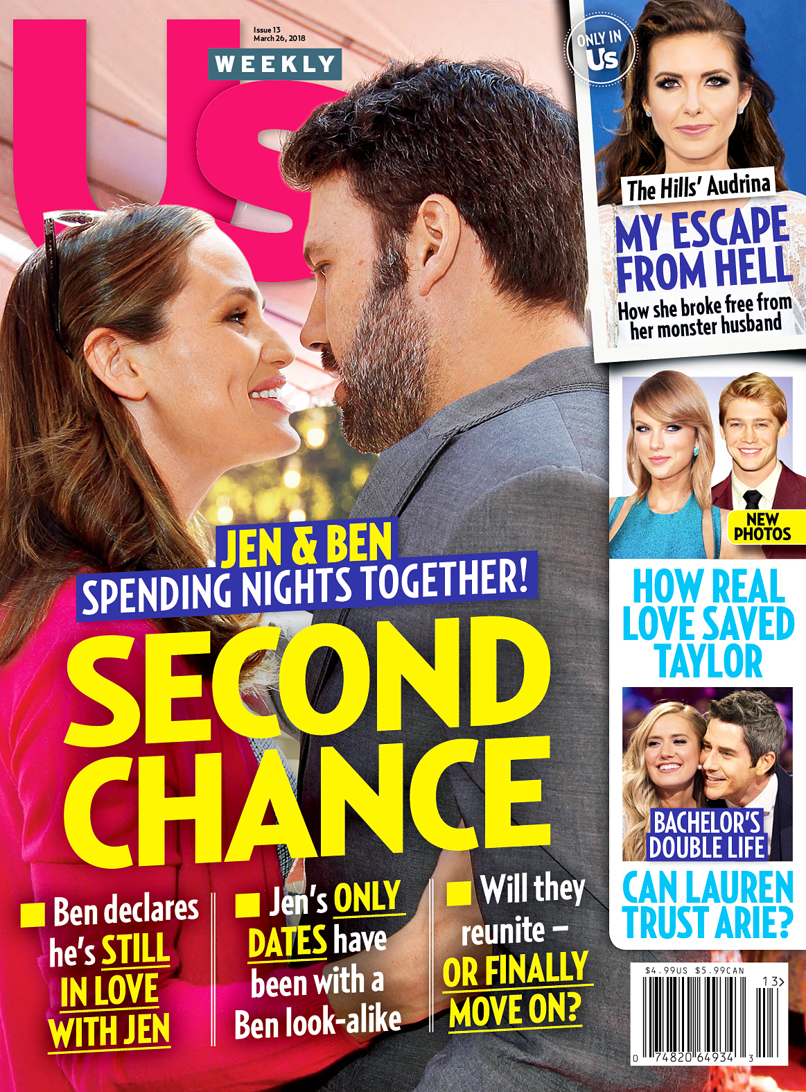 Us Weekly Cover Jennifer Garner Ben Affleck